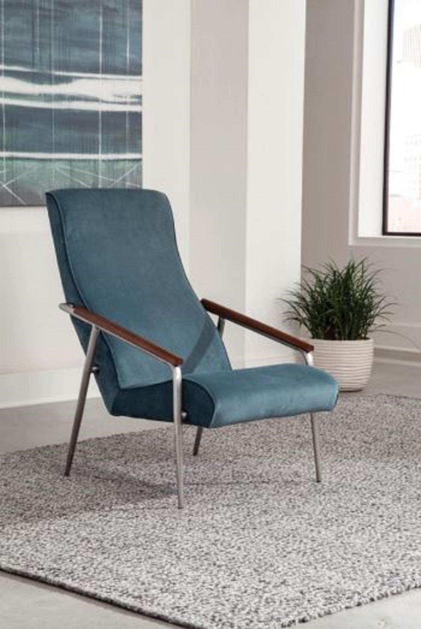 Brayden Studio Dain 22 W Polyester Armchair Wayfair
