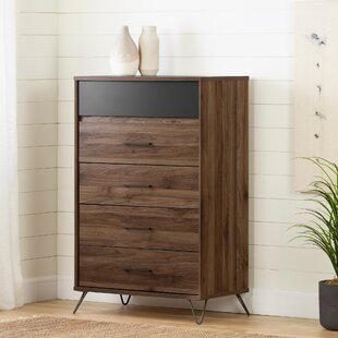 Olvyn 5 Drawer Chest by South Shore Cheap