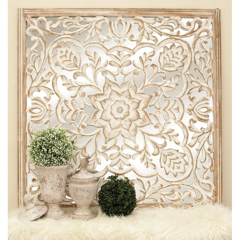 Cole Grey Carved Wooden Wall Decor Wayfair