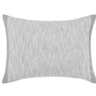Claremont Engineered Stripe Cotton Lumbar Pillow