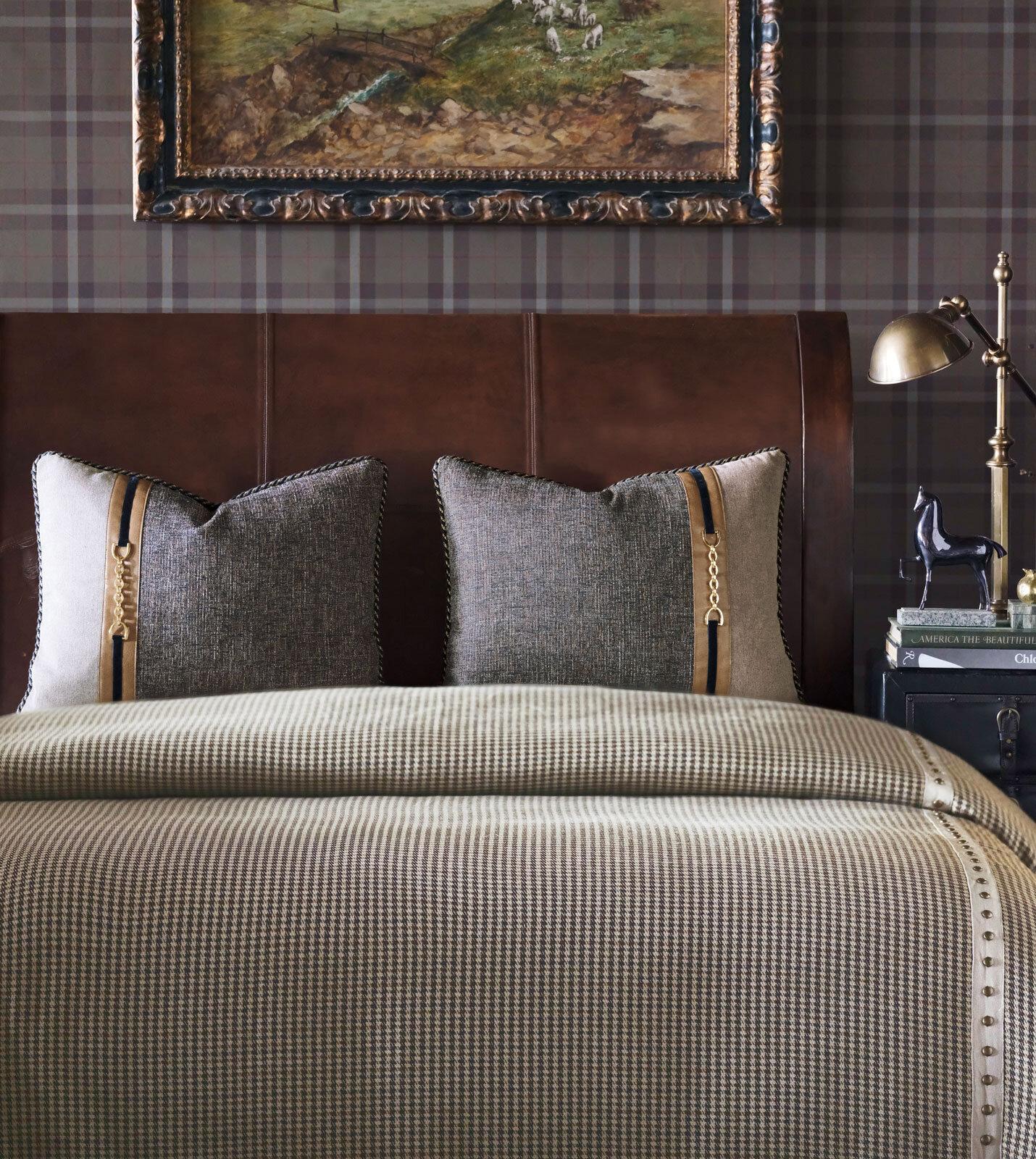 edward brown houndstooth comforter