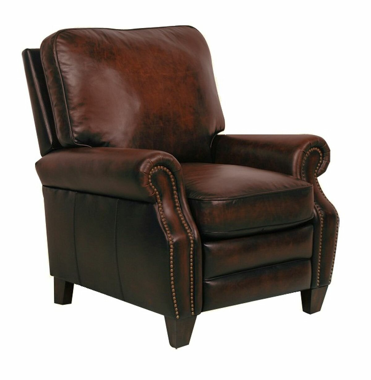Delicieux Barcalounger Briarwood Leather Manual Recliner U0026 Reviews | Wayfair