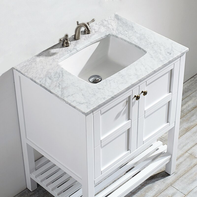 Zara 30 Single Bathroom Vanity Set