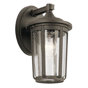 Gracie Oaks Mahr Outdoor Wall Lantern