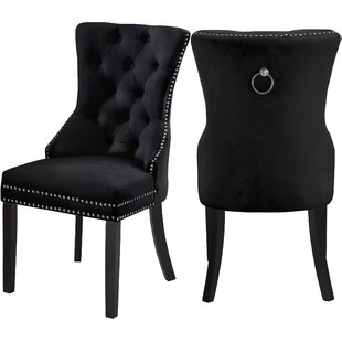 Black Lacquer Dining Chairs Wayfair