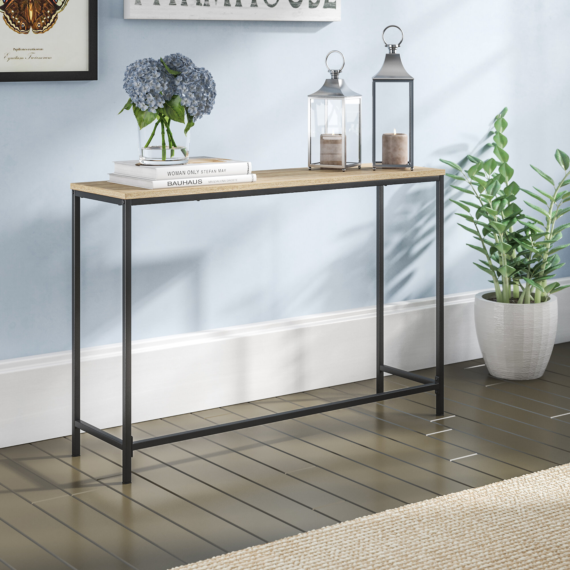 Picture of: Black Console Tables You Ll Love In 2020 Wayfair