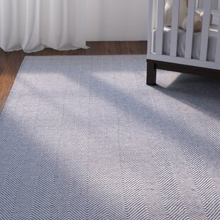 Alonso Hand Woven Gray Blue Indoor Outdoor Chevron Area Rug Byviv Rae Affordable Price On Entry
