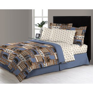 Pemelton Trail Reversible Comforter Set by Loon Peak