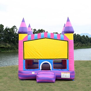 JumpOrange Cotton Candy Bounce House