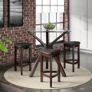 Inexpensive Burnell 4 Piece Counter Height Pub Table Set By Zipcode Design