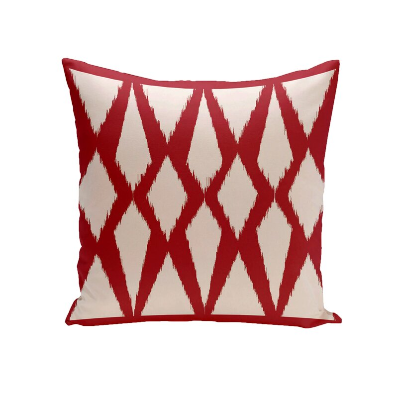 Blasingame Geometric Decorative Outdoor Pillow Reviews Joss Main Magnificent Decorative Outdoor Pillows On Sale