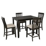 Abigailmarie 5 - Piece Counter Height Dining Set by Red Barrel Studio®