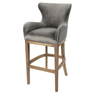 Vibaldy 43 Bar Stool Gracie Oaks