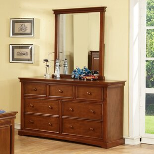 Online Reviews Vernell 7 Drawer Double Dresser by Harriet Bee Reviews (2019) & Buyer's Guide