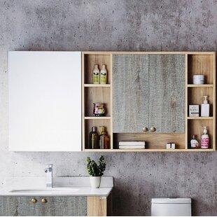 Donatello 67 x 315 Surface Mount Frameless Medicine Cabinet