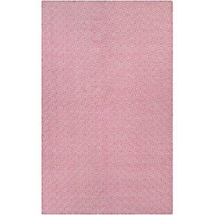 Arce Handwoven Pink Area Rug