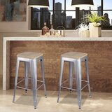 Chris 30 Bar Stool (Set of 4) by 17 Stories