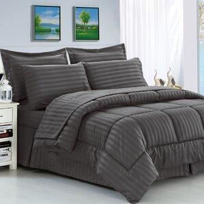 haliburton 8 piece reversible comforter set