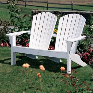 Seaside Casual Adirondack Shell Wood Adirondack Chair