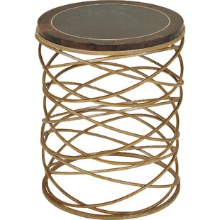 Iron End Table by Maitland-Smith
