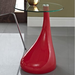 Teardrop End Table by Modway