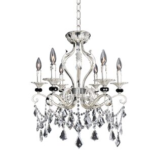 Allegri by Kalco Lighting Donizetti 6-Light Candle Style Chandelier