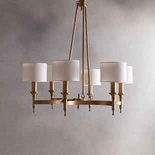 Willa Arlo Interiors Rudolph 6-Light Shaded Chandelier