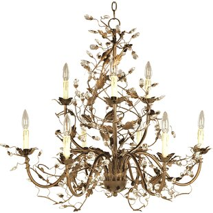Kaiya 9-Light Chandelier b..