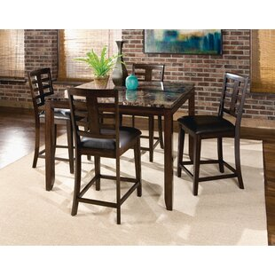 Bella 5 Piece Pub Table Set Standard Furniture