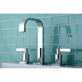 Affordable Continental Widespread Bathroom Faucet with Drain Assembly By Kingston Brass