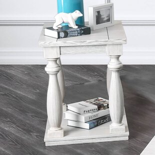 Highland Dunes Jaque Traditional End Table