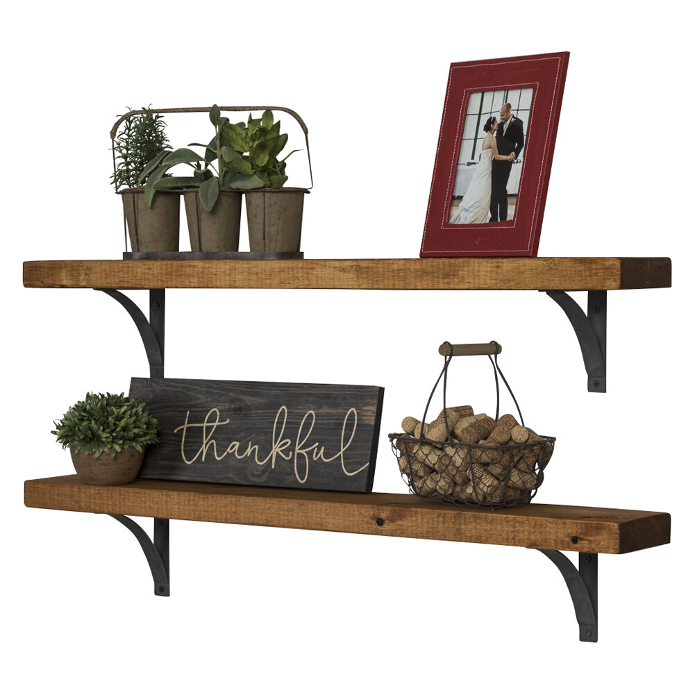 good brackets steel you rustic any shelf ways metal can be style certain is industrial farmhouse