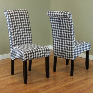 Dimmick Parsons Chair (Set of 2) Red Barrel Studio