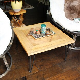 Meryl Square Old Elm Coffee Table by Williston Forge