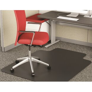 EconoMat® Low Pile Straight Edge Chair Mat By Deflect-O