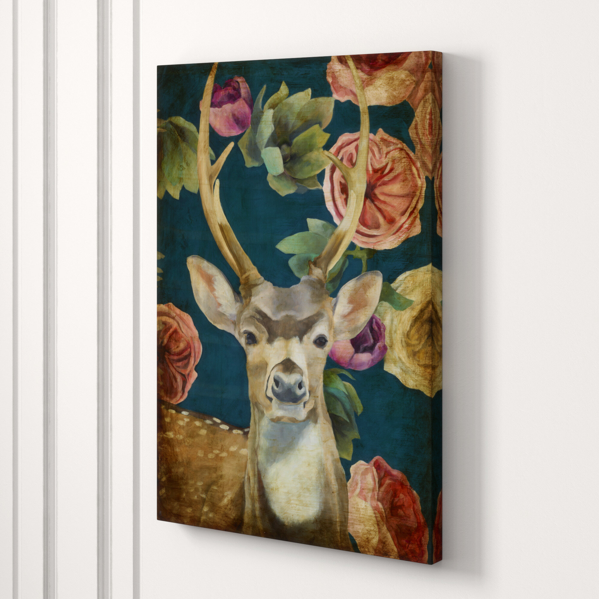 Chelsea Art Studio Wild Bouquet Iv By Sarah Atkinson Wrapped Canvas Graphic Art Print Perigold