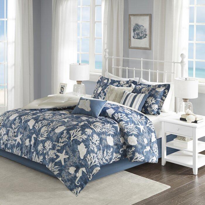 Beacon Falls Cotton 7 Piece Comforter Set