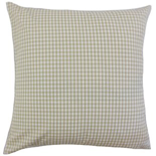 Keats Plaid Throw Pillow Cover
