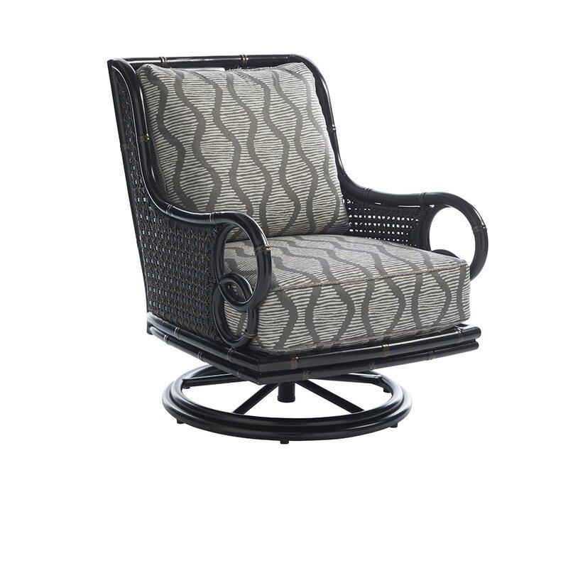 Tommy Bahama Outdoor Marimba Swivel Patio Chair With Sunbrella Cushions Perigold
