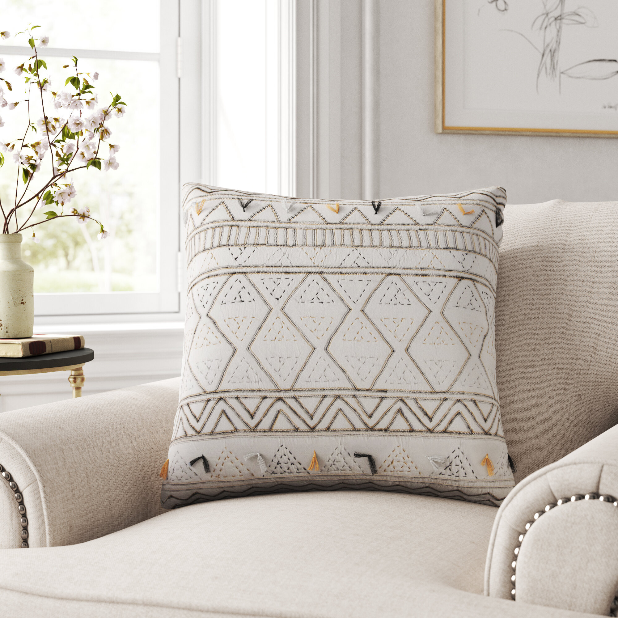 Cottage Country Kelly Clarkson Home Throw Pillows You Ll Love In 2021 Wayfair