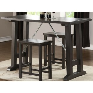 Kohan 3 Piece Counter Height Dining Set by Red Barrel Studio