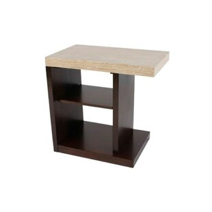 Black Birch Contemporary End Table