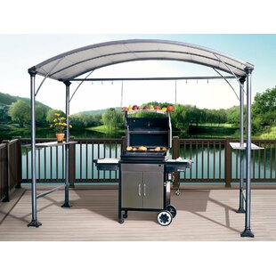 Abba Patio 9 Ft. W x 5 Ft. D Steel Grill Gazebo