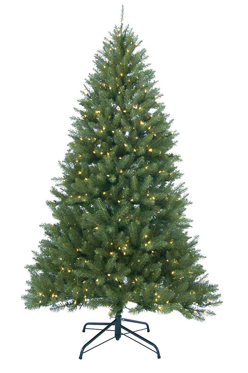 Northlight 9\' Essex Pine Medium Artificial Christmas Tree with 900 ...