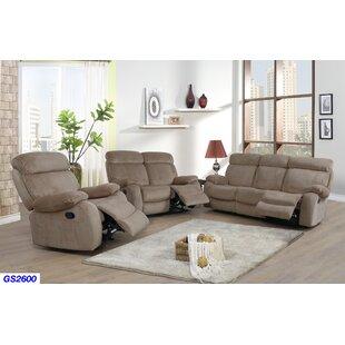 Mcgruder 3 Piece Reclining Living Room Set by Winston Porter