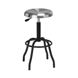 Swivel Adjustable Bar Stool By Symple Stuff