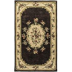 Chocolate Wool Oriental Rug Wayfair