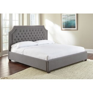 Comparison Hanner Upholstered Platform Bed by Alcott Hill Reviews (2019) & Buyer's Guide