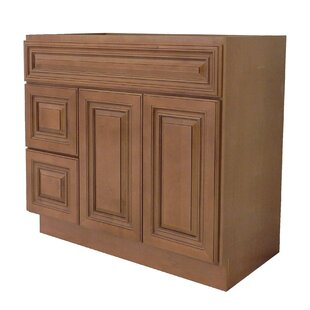 Deals 36 Bathroom Vanity Base Only ByNGY Stone & Cabinet