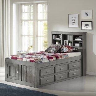 Check Prices Greg Twin Mate's & Captain's Bed with Drawers by Harriet Bee Reviews (2019) & Buyer's Guide